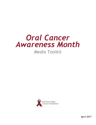 Oral Cancer Awareness Month Social Media Toolkit