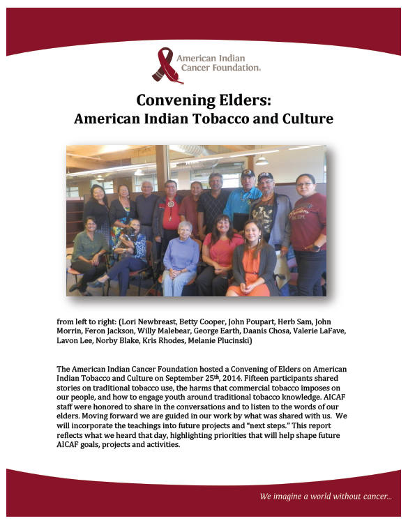 American Indian Tobacco and Culture