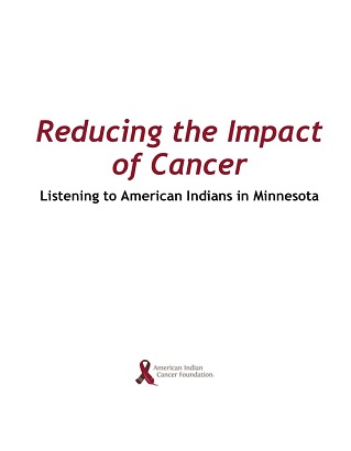 Reducing Impacts of Cancer
